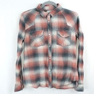 Dylan by True Grit Light Button Down Top